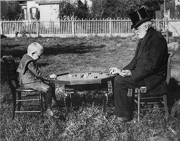 Sen. Coffin & Great-Grandson 1900 Albuquerque |Pichenotte Games
