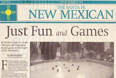 New Mexican News at the Santa Fe Mall |Pichenotte Games