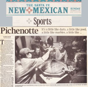New Mexican News at SF Second St Brewery |Pichenotte Games