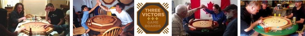 Three Victors Gameboards
