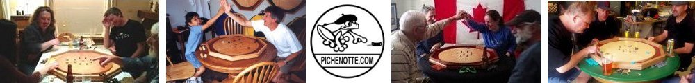 Pichenotte and Crokinole Games