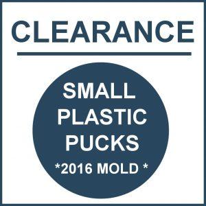 CLEARANCE *2016* PLASTIC PUCKS
