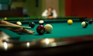 Billiards and snookers