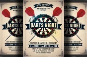 darts-night-flyer-template-