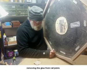 rails glue removal 29
